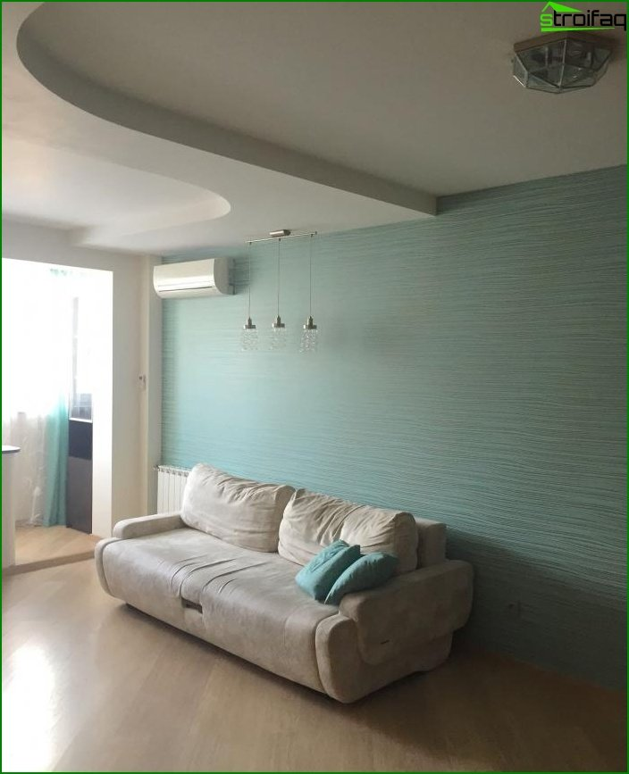 Reparación en una de dos habitaciones? apartamento 1