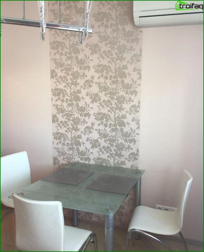 Reparación en una de dos habitaciones? apartamento 3