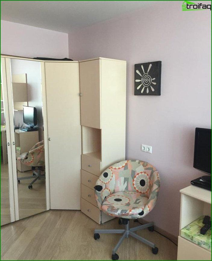 Reparación en una de dos habitaciones? apartamento 5