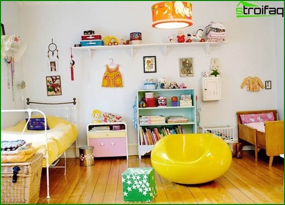 Photo of the room for kids