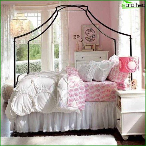 غرفة لفتاة مراهقة