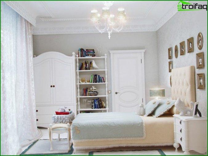 غرفة نوم للفتاة
