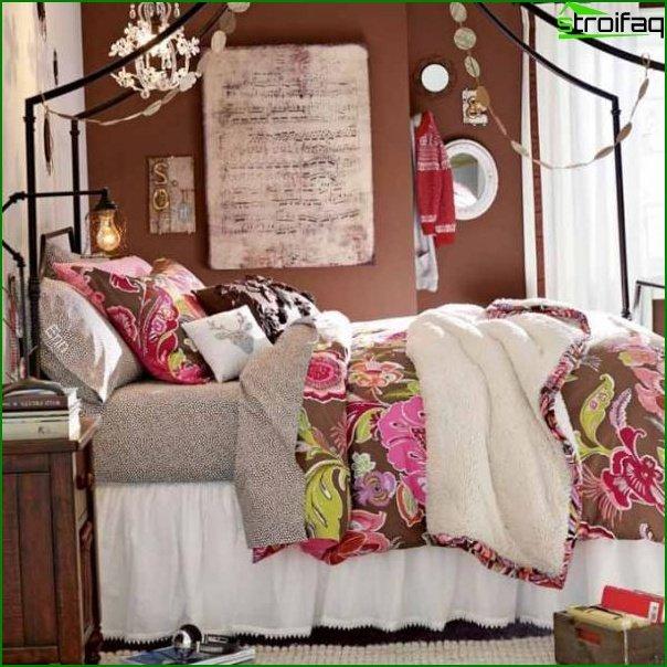 صورة لغرفة لفتاة تبلغ من العمر 12 عامًا
