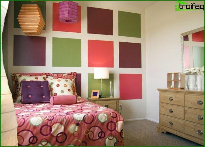 صمم غرفة نوم لفتاة تبلغ من العمر 12 عامًا