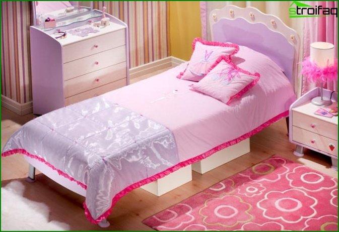 سرير ليلك