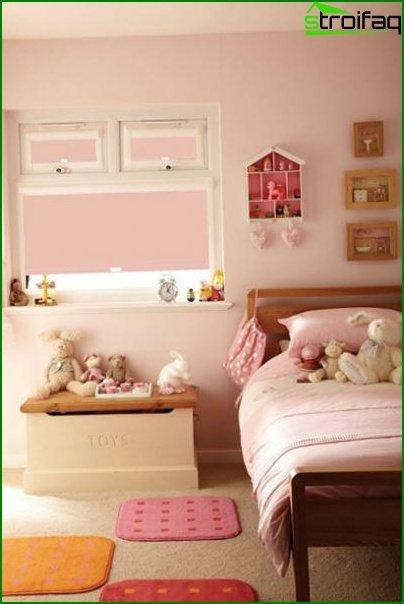 ديكور جميل لغرفة الأطفال