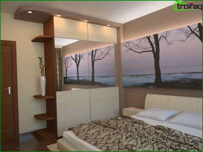 bedroom 12 meters design photo
