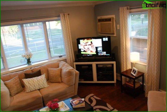Bedroom-living room: design secrets - photo 2