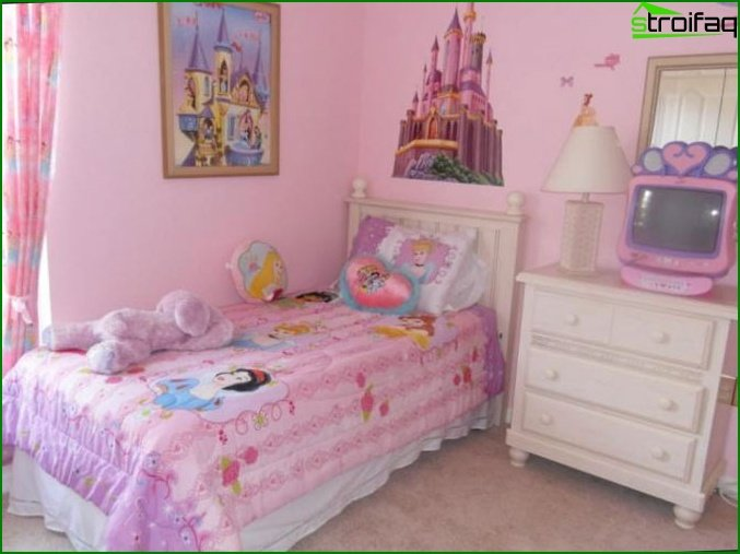 The subtleties of creating a children's room for sleeping
