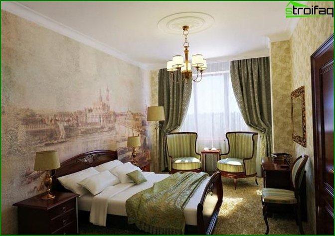 Classic bedroom - photo