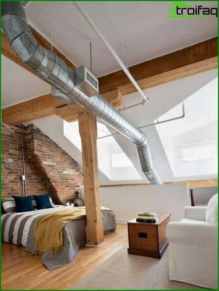 Industrial style rooms - 4