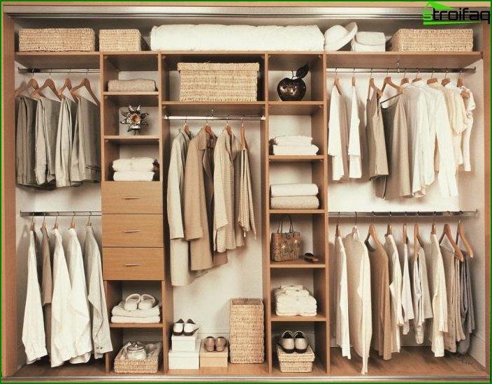 Llenando el armario