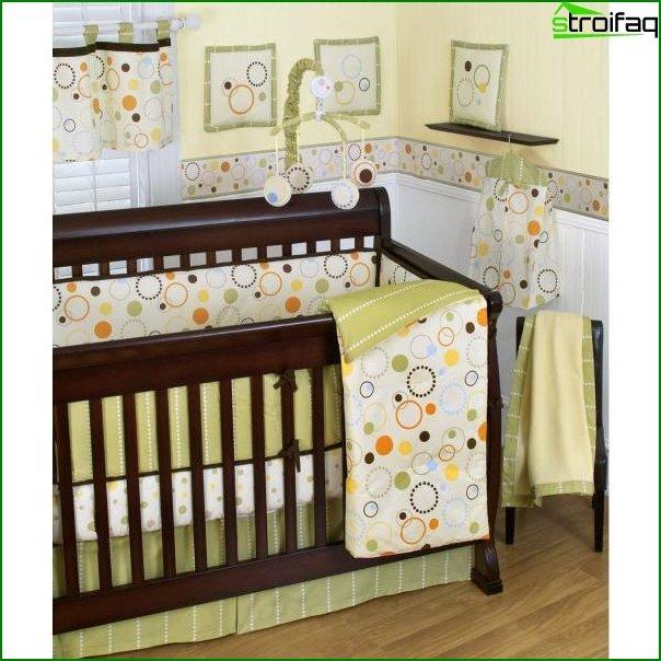 Salas de diseño fotográfico para un niño de 1 a 3 años.