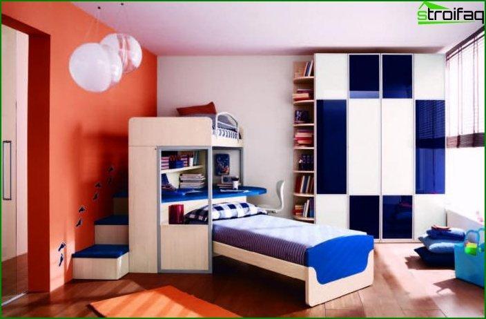 Habitación para niño de 11-12 metros.