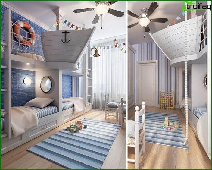 Habitación Marine Style Boy