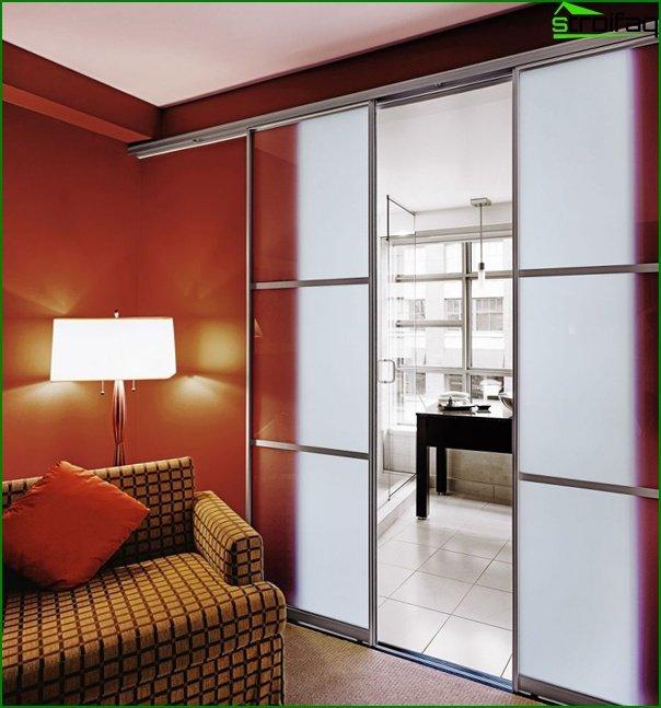 Sliding doors (photo) - 3