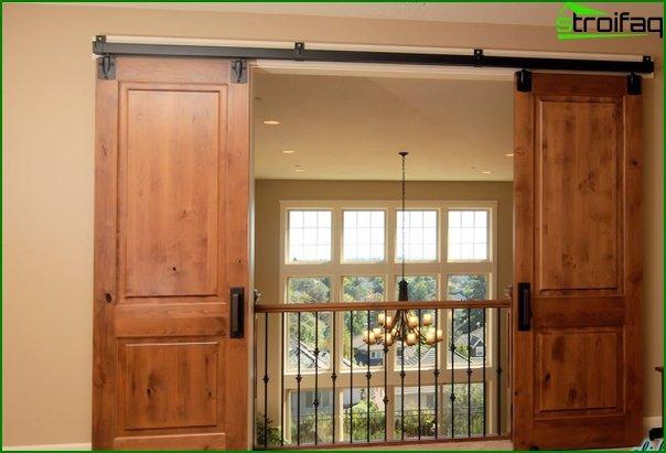 Sliding doors (wooden) - 2