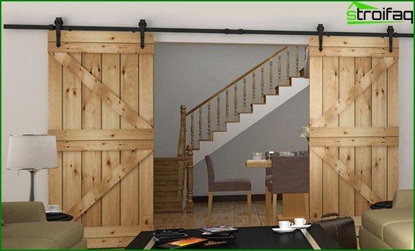 Sliding doors (wooden) - 3