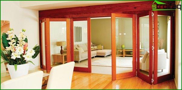 Sliding doors (wooden) - 5