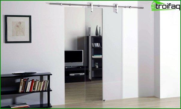 Sliding doors (glass) - 1