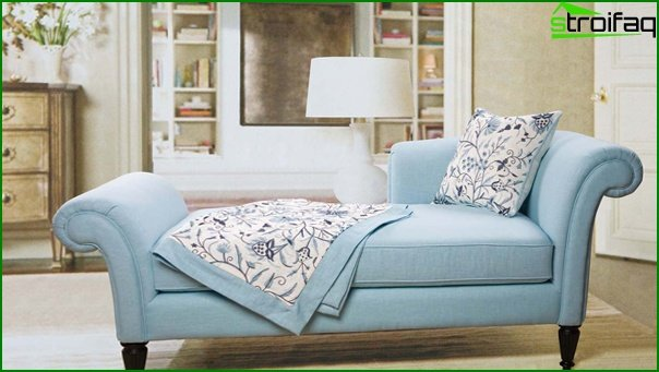 Upholstered furniture (in the bedroom) - 1
