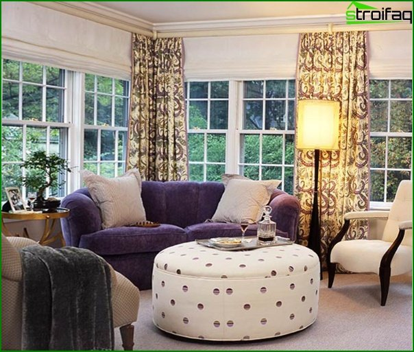 Upholstered furniture (in the bedroom) - 2