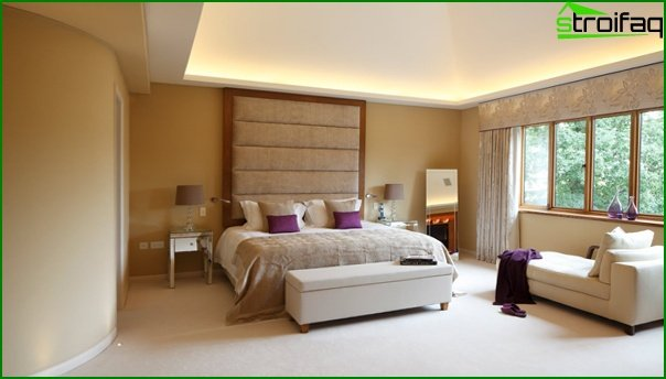 Upholstered furniture (in the bedroom) - 4