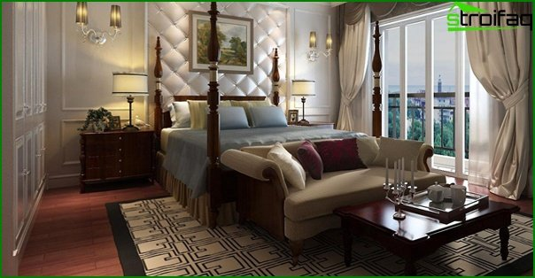 Upholstered furniture (in the bedroom) - 5