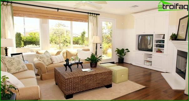 Upholstered furniture (in the living room) - 1
