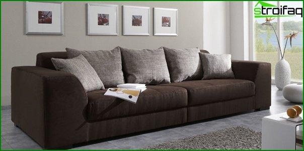 Upholstered furniture (classic sofa) - 1