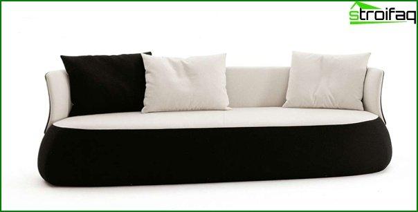 Upholstered furniture (classic sofa) - 4