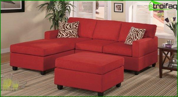 Upholstered furniture (corner sofa) - 1
