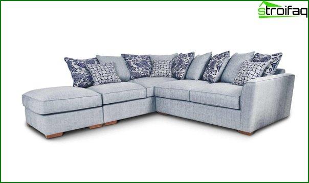 Upholstered furniture (corner sofa) - 3
