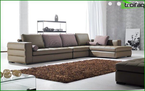 Upholstered furniture (corner sofa) - 4