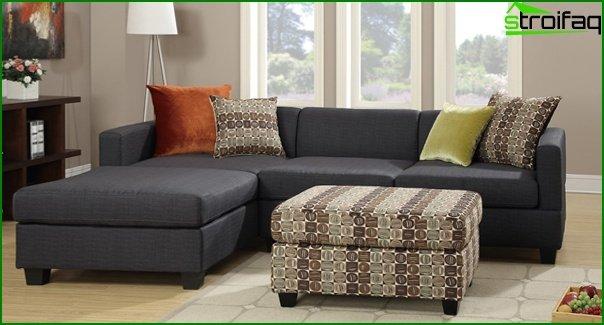 Upholstered furniture (corner sofa) - 5