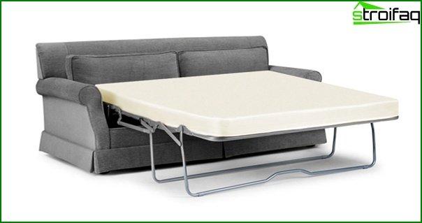 Upholstered furniture (sofa bed) - 1