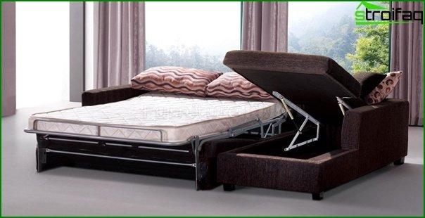 Upholstered furniture (sofa bed) - 3
