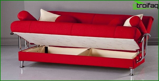 Upholstered furniture (sofa bed) - 4