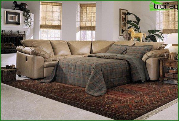 Upholstered furniture (sofa bed) - 5