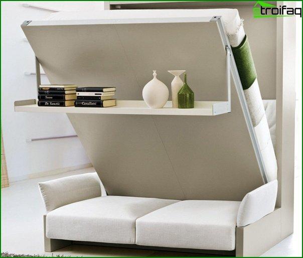 Upholstered furniture (transforming sofa) - 5