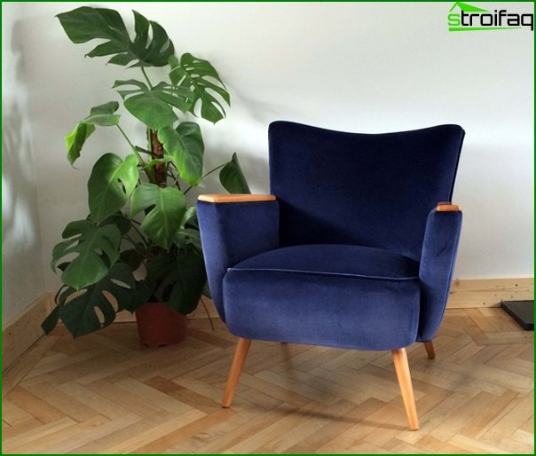 Upholstered furniture (classic armchair) - 5