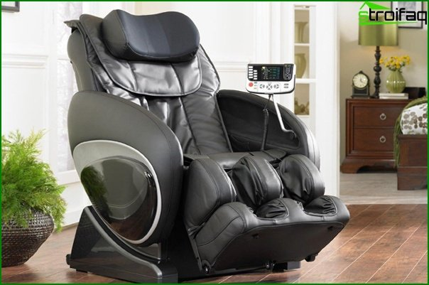 Upholstered furniture (massage chair) - 3