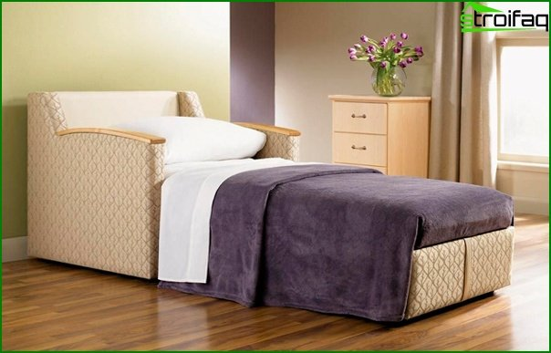 Upholstered furniture (chair-bed) - 3