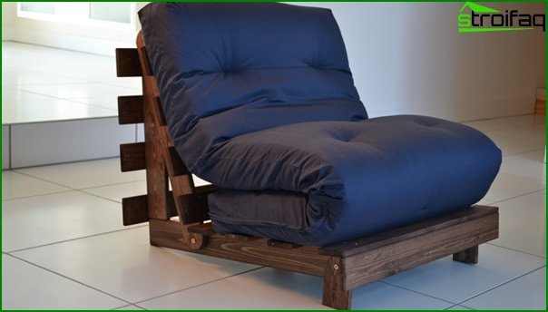 Upholstered furniture (chair-bed) - 4