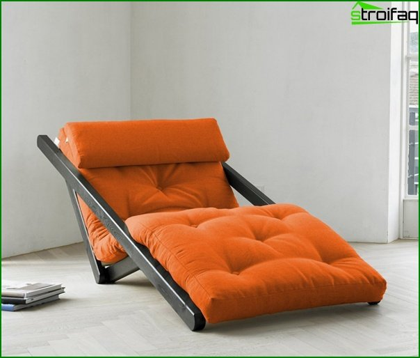 Upholstered furniture (chair-bed) - 5
