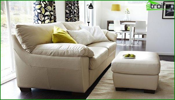 Upholstered furniture (ottoman) - 5