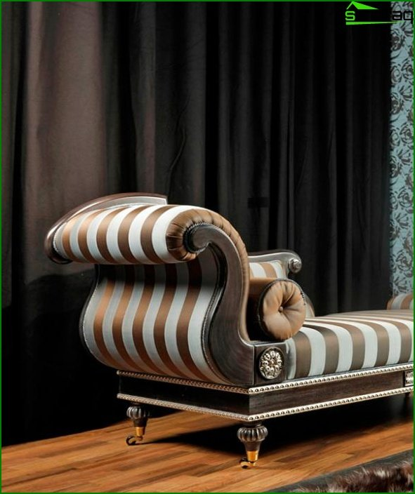 Upholstered furniture (ottoman) - 2