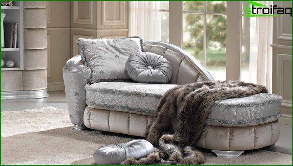 Upholstered furniture (ottoman) - 4