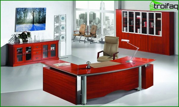 Office furniture (for the head) - 2