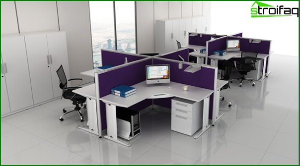 Office furniture (for staff) - 1